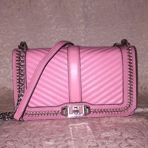 Rebecca Minkoff Pink Love Crossbody